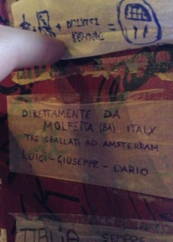 Italiani sballati ad Amsterdam